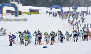 MOnte Bondone Nordic Ski Marathon 2017