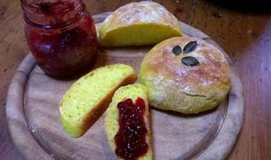 Pan di zucca gialla