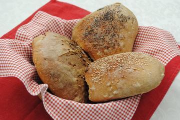 Pane integrale con le noci